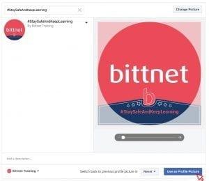 Poza de profil Facebook Bittnet Training