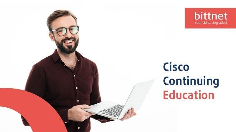 Prin participarea la cursurile Cisco ai sansa sa acumulezi credite necesare recertificarii.